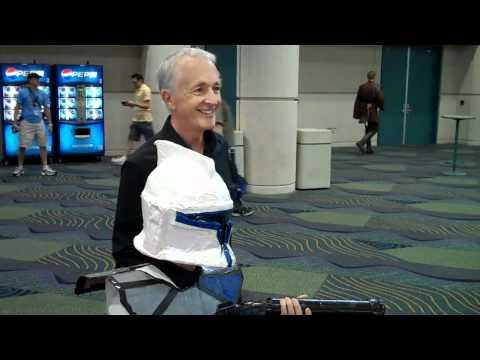 Anthony Daniels at Star Wars Celebration V