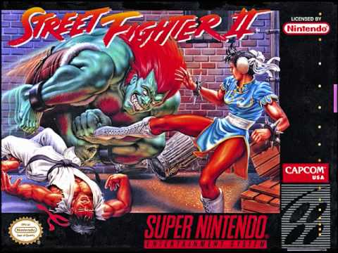 Street Fighter II SNES-Bonus Stage - YouTube