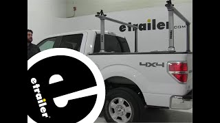 Review of the Thule Ladder Racks on a 2011 Ford F-150 - etrailer.com