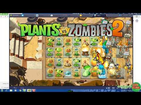 cách tải plants vs zombies 2 hack tren may tinh - [PC] Hack Plant vs zombie 2 Máy tính Full coin mặt trời, thời gian