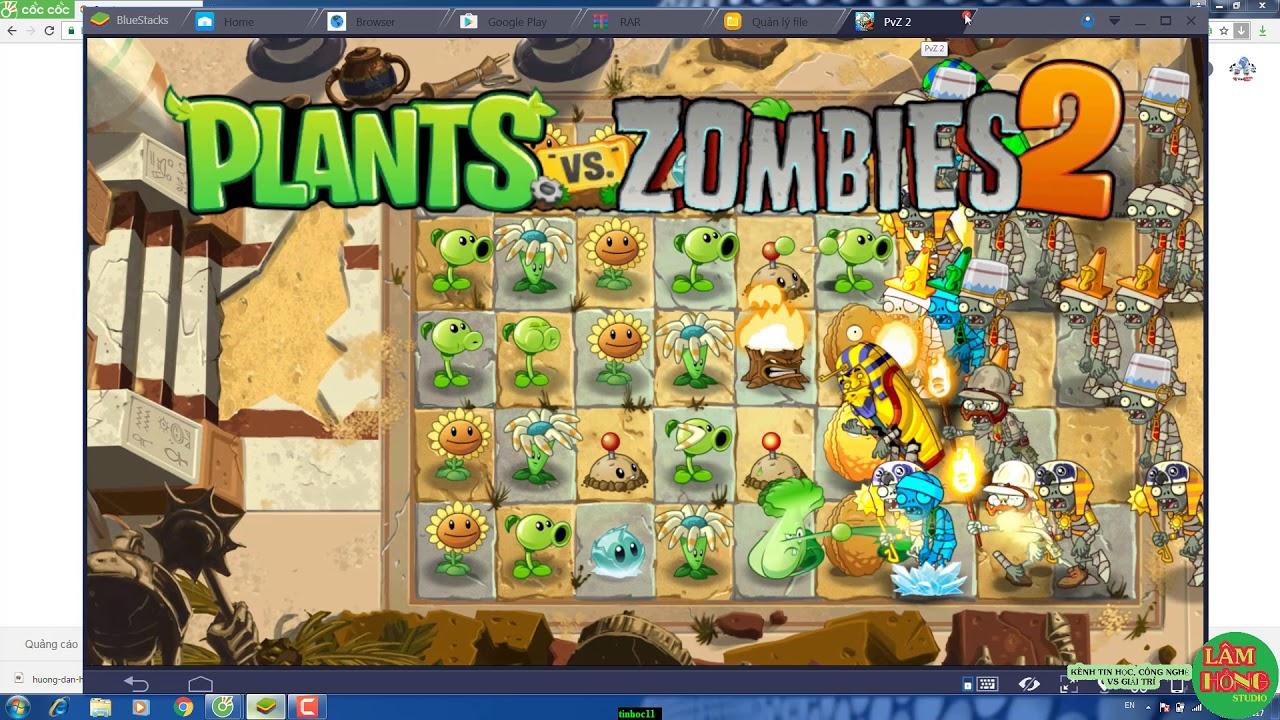 [PC] Hack Plant vs zombie 2 Máy tính Full coin mặt trời, thời gian