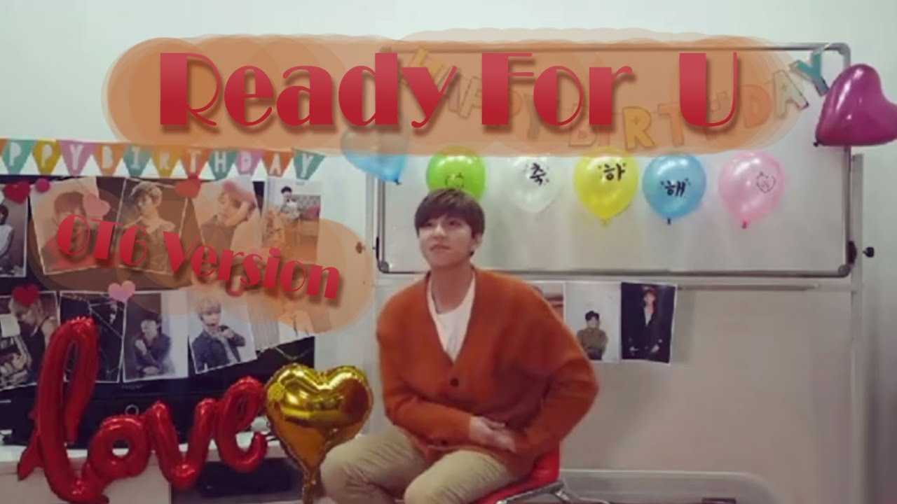 Ready For U (널 맞이할 준비) - U-KISS (OT6 Version, with Kevin)