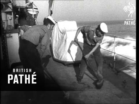 Britain Shows White Ensign (1948)