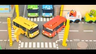 Wheels on the bus | Tayo bus | Lego | Elmo | Thomas the train | Nursery rhymes | Kiddiestv