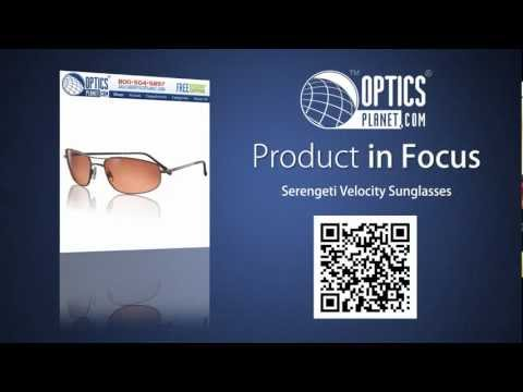 Serengeti Velocity Sunglasses - OpticsPlanet.com Product in Focus