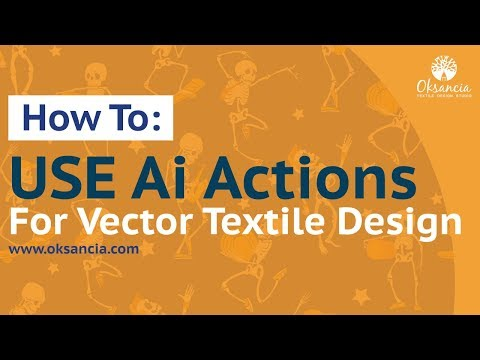 How to test your trimmed vector repeat pattern design with this awesome Adobe Illustrator Action