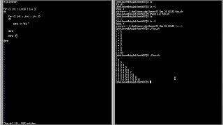 """Linux scripting tutorial using BASH, similar to UNIX shell scripting. This video shows how to use the """"for"""" loop statement. The example will be similar to the C ..."""