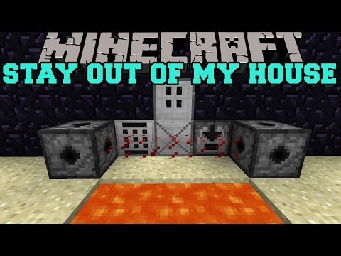 Thumbnail: Minecraft: STAY OUT OF MY HOUSE (MINES, LASERS, AND KEYCODES) Security Craft Mod Showcase