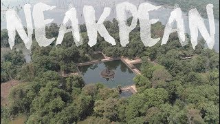 NEAKPEAN DRONE FOOTAGE / カンボジア アンコールワット遺跡群 ニャックポアンの空撮