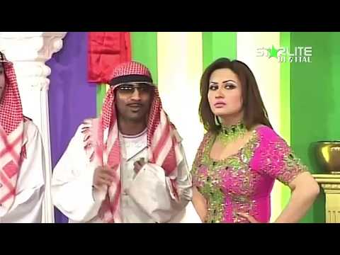 New Pakistani Stage Drama - Zafri Khan, Nargis And Naseem Vicky - Full Comedy Clip