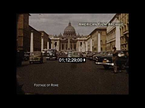 Rome - footage from 1920's to 1960's