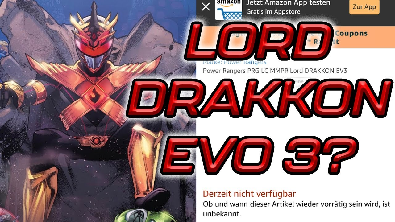 Lord drakkon EVO 3 FINAL Forma Trono POWER RANGER Lightning Figura Collezione