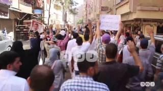 رصد   تظاهرة معارضة للعسكر بمنطقة الهرم في الجيزة للمطالبة برحيل السيسي