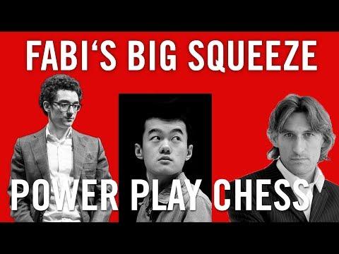 Fabi\'s Big Squeeze | Caruana v Ding Liren | Round 9 Candidates 2018 | Berlin |