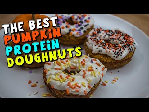 the-best-pumpkin-protein-doughnuts-recipe