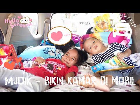 Zara membuat Kamar di Mobil | Mudik ala Zara Cute | Tips Mudik