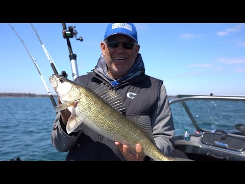 Early Season Walleyes On Saginaw Bay - Season 5