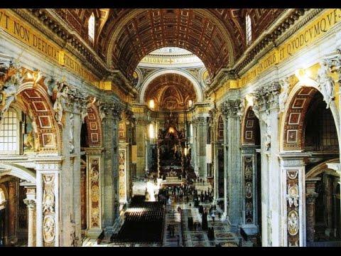 basilica di san pietro citt del vaticano interno