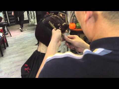 Hair bar Tuấn còi : p1 : andy Tính : hướng dẫn cắt đầu vic