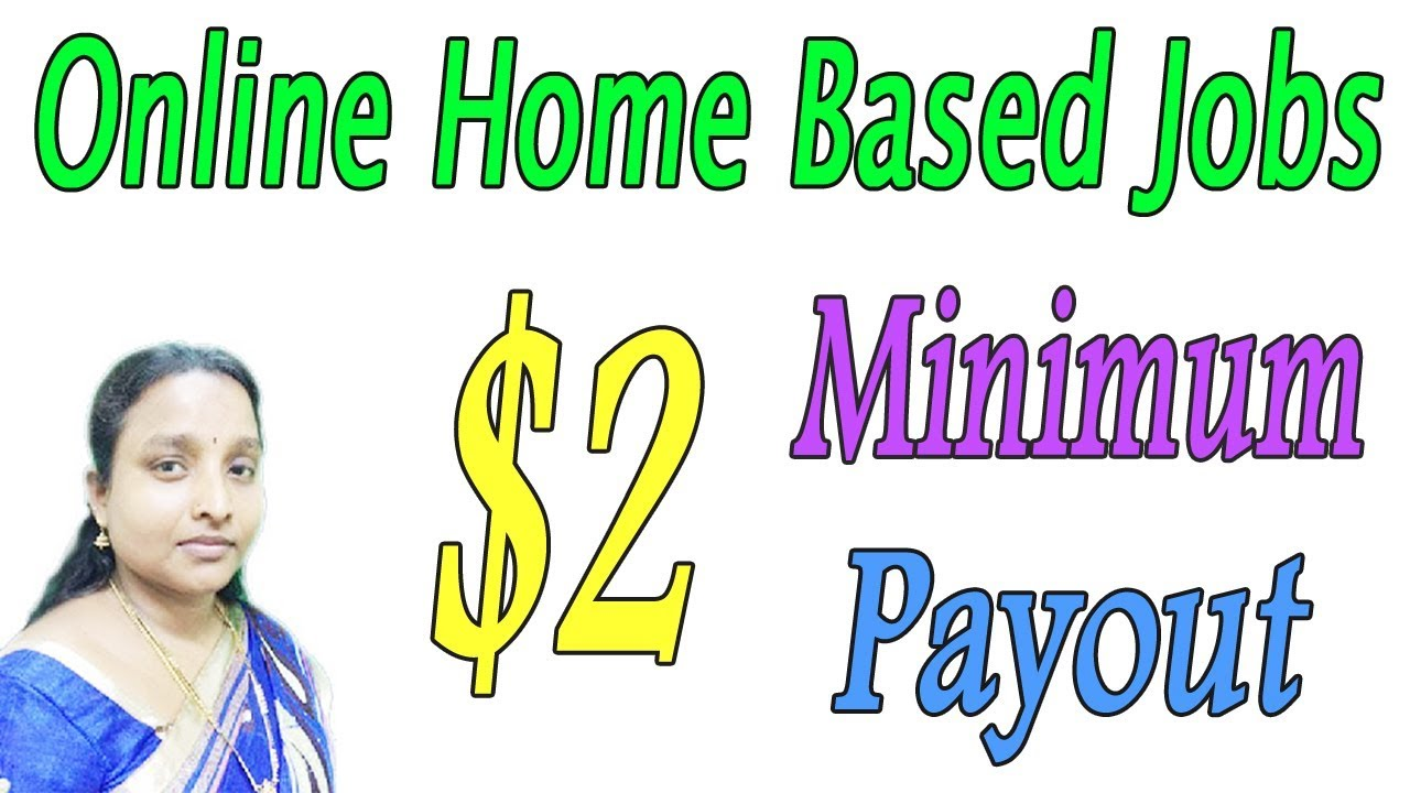 Online Home Based Jobs | Minimum $2 Payout Very Easy in Tamil - YouTube