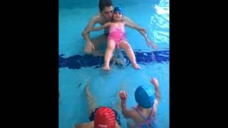 Özel Mutluluk Anaokulu Yaz Okulu 2015 yüzme