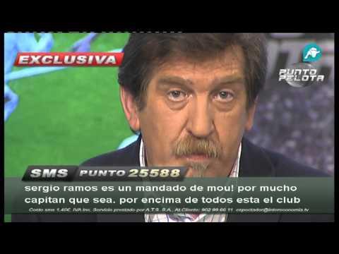 """Iñaki Cano: """"Nadie del cuerpo técnico se dirigió a Sergio Ramos tras la expulsión"""""""
