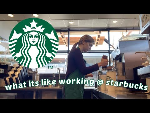 come to work with me at Starbucks // what it's like working at Starbucks