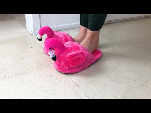 FLAMINGO SLIPPERS YOUTUBE