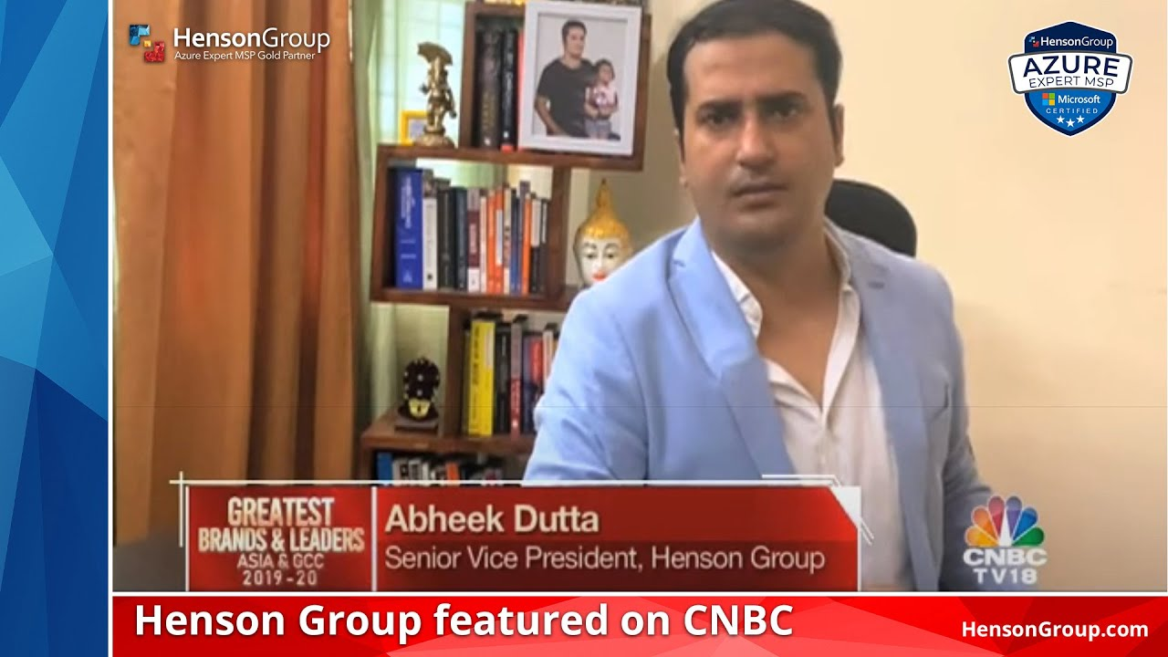 "Henson Group featured on CNBC as ""Greatest Brands & Leaders"" Asia & GCC"