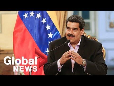"Maduro warns Trump: ""hands off Venezuela"""