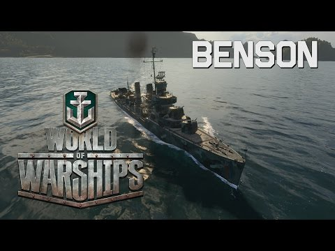 World of Warships - Benson Defensive Torpedoes