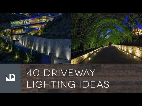 40 Driveway Lighting Ideas You
