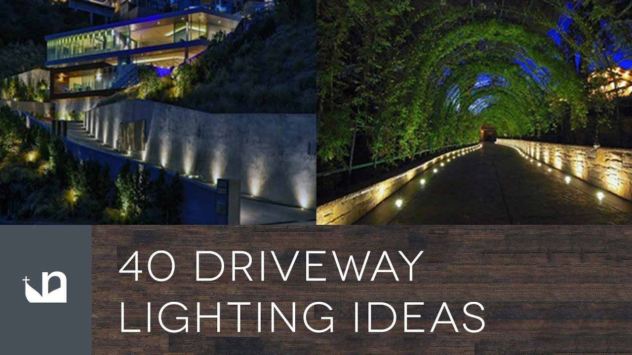 40 driveway lighting ideas youtube