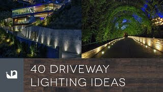 Gambar cover 40 Driveway Lighting Ideas