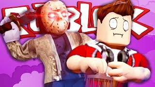 ESCAPA DE JASON!! - Roblox Escape Camp Roblox Obby