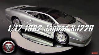 1/12 1992 Jaguar Xj220 Supercar by Maisto, Review