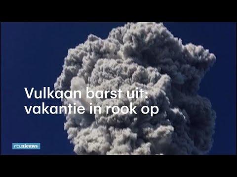 Vulkaan verrast toeristen op Java - RTL NIEUWS