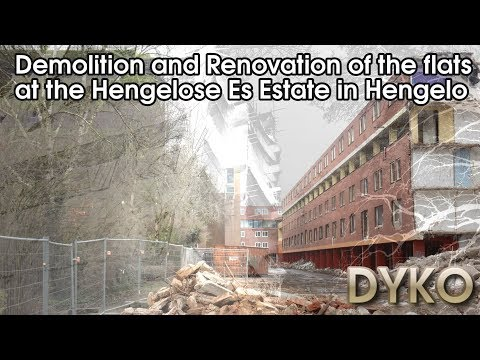 Demolition and renovation of the flats at the Hengelose Es estate in Hnegelo