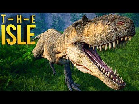 The Isle - Caçando Em Grupo, Albertosaurus, Atacando T-Rex! | Dinossauros (#149) (PT-BR)