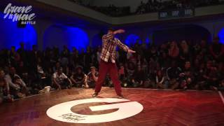 Jaz   Popping Preselection   GROOVE'N'MOVE BATTLE 2015   Geneva