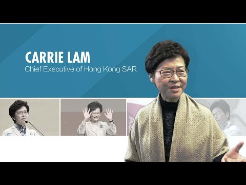 Interview with Hong Kong SAR Chief Executive Carrie Lam