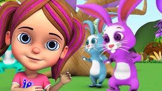 Спящие кролики | детские рифмы | русская детская песня | Sleeping Bunnies | Little Treehouse
