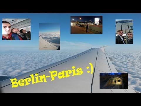 [Берлин] ч.9: Ночь в аэропорту и... привет, Париж!