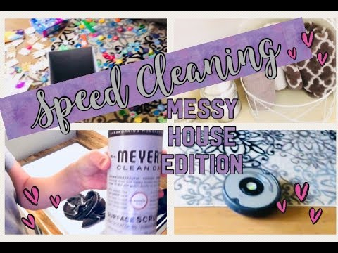 speed-cleaning-messy-house-|-sahm-|-cleaning-motivation