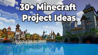 30+ Minecraft 1.15 Survival Projects to Stay Busy and Have Fun! [Build Ideas]