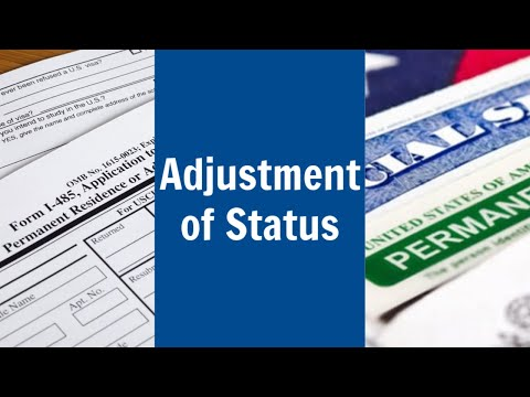 Adjustment Of Status