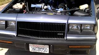 1987 Buick Regal Grand National Turbo Loaded (California garaged vehicle)2