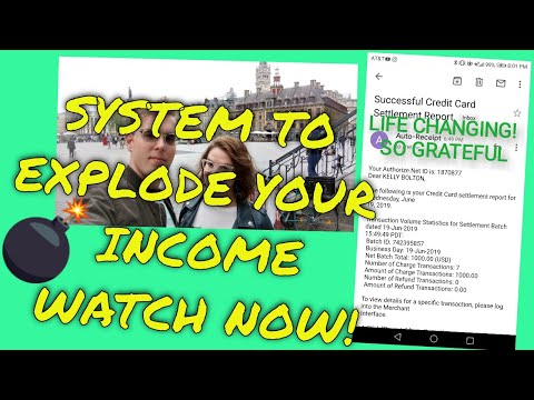 AUTOMATED SYSTEM TO EXPLODE YOUR BUSINESS - MAKE $200 A DAY ONLINE - MULTIPLE STREAMS OF INCOME thumbnail
