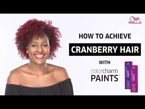how-to:-cranberry-hair-using-wella-colorcharm-paints-(fuchsia-+-purple)