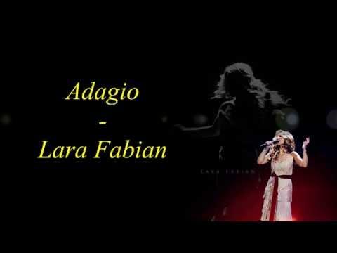 Adagio - Lara Fabian - Lyrics